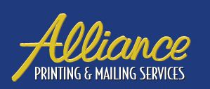 Alliance printing and mailing services
